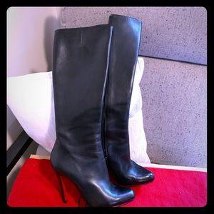 Christian louboutin calf boots